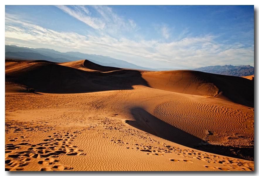《酒一船摄影》:Death Valley 拍沙丘_图1-2