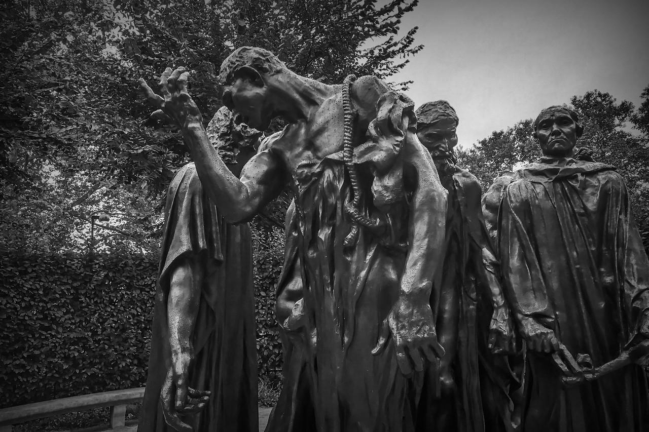 罗丹的大型群雕,考你的理解力_图1-9