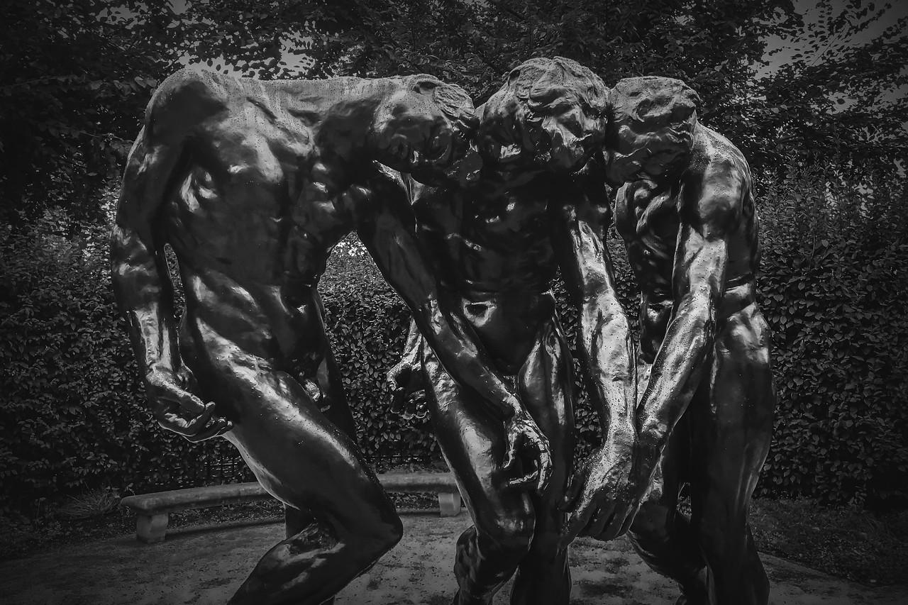 罗丹的大型群雕,考你的理解力_图1-6