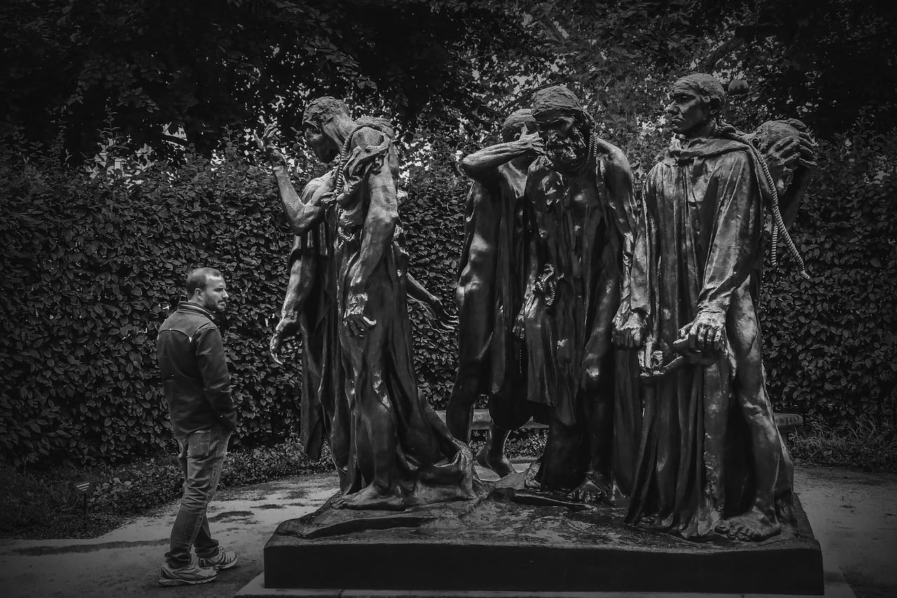 罗丹的大型群雕,考你的理解力_图1-1