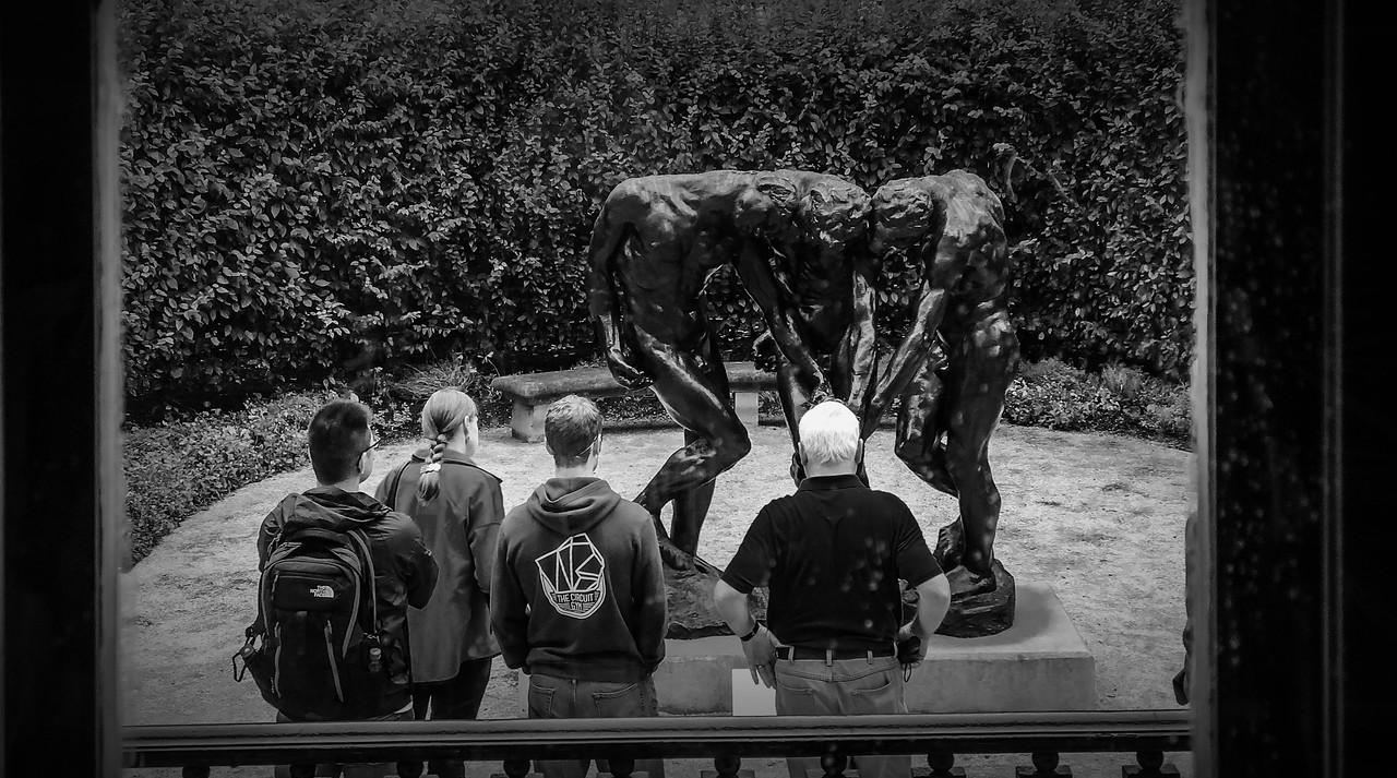 罗丹的大型群雕,考你的理解力_图1-2