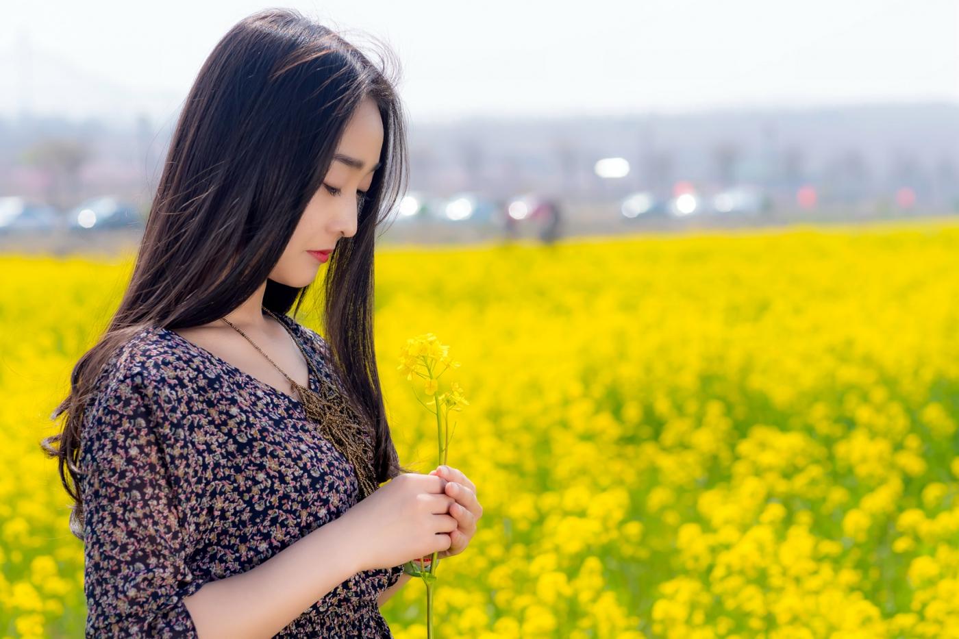 清明时节踏春的临沂女孩们_图1-9