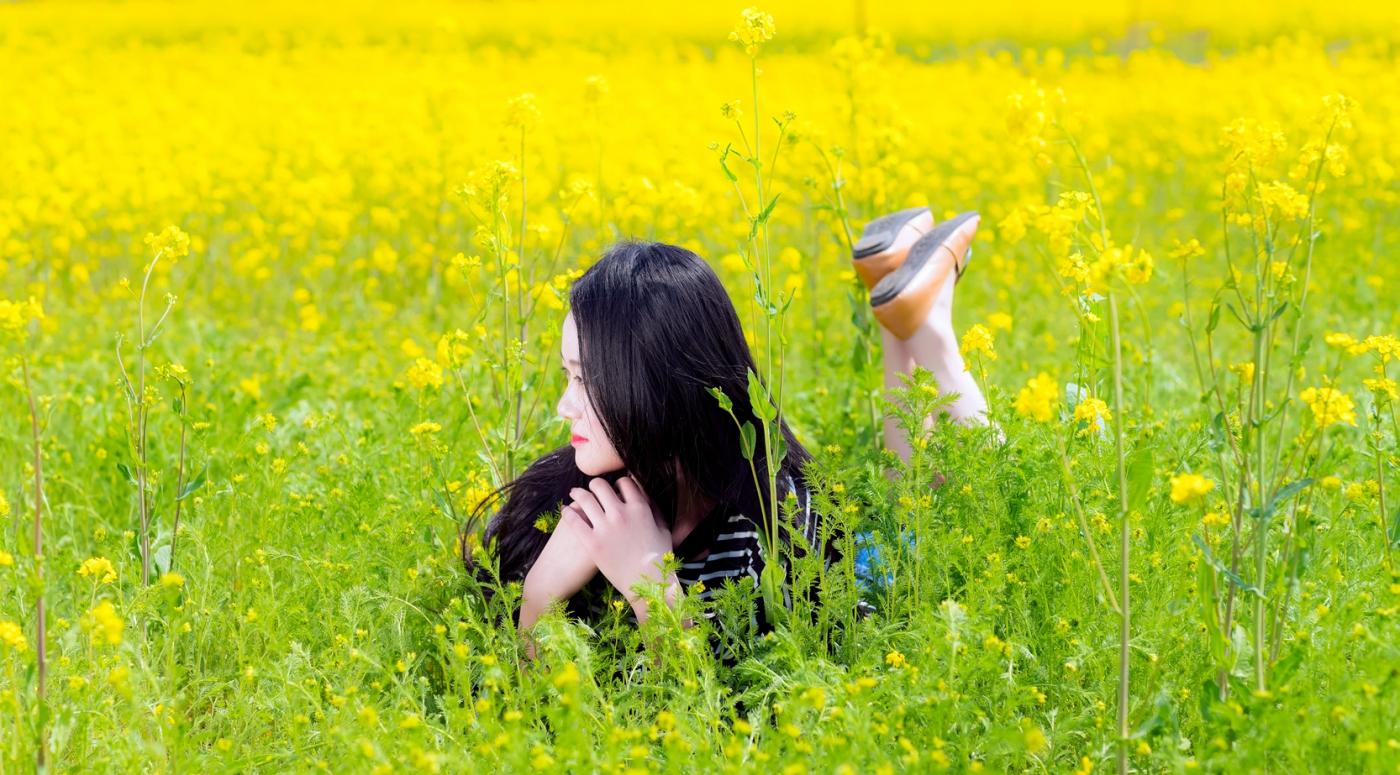 清明时节踏春的临沂女孩们_图1-13