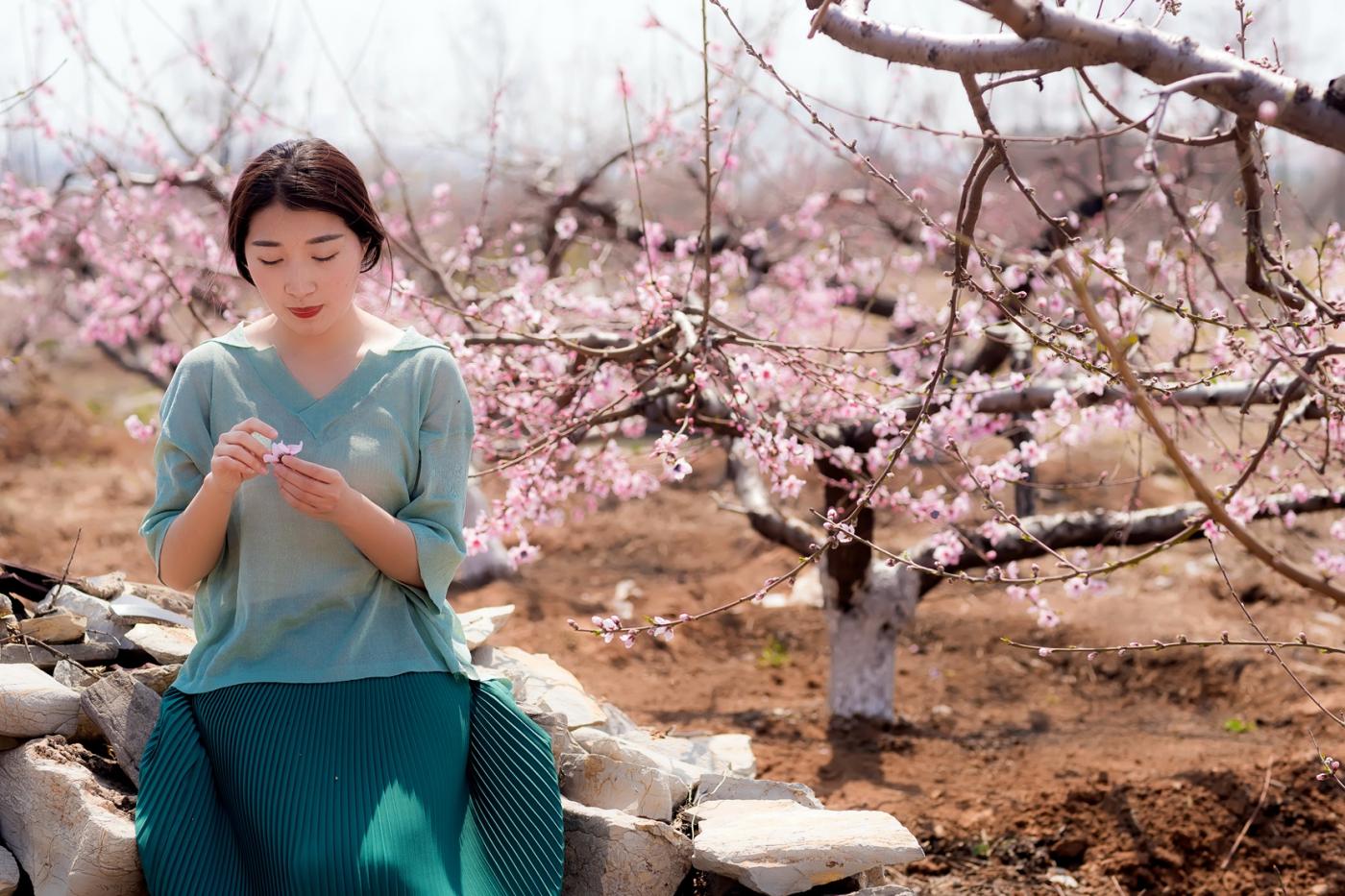 清明时节踏春的临沂女孩们_图1-21