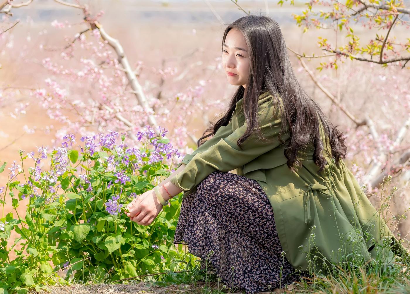 清明时节踏春的临沂女孩们_图1-26