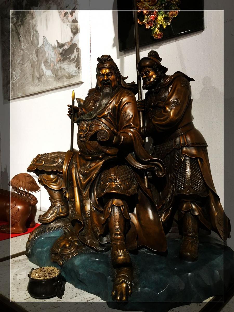 精美的中国铜工艺品_图1-7