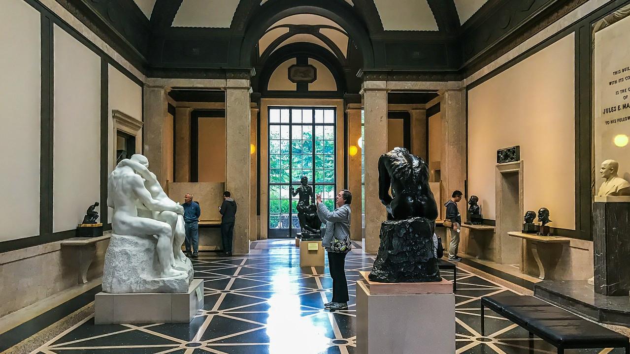 罗丹博物馆内的一景一幕_图1-2