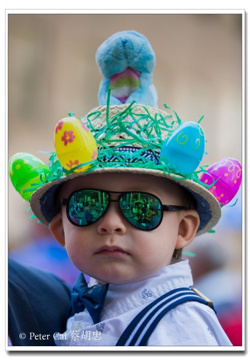 """纽约复活节游行,上演""""最新奇别致的帽子""""_图1-4"""
