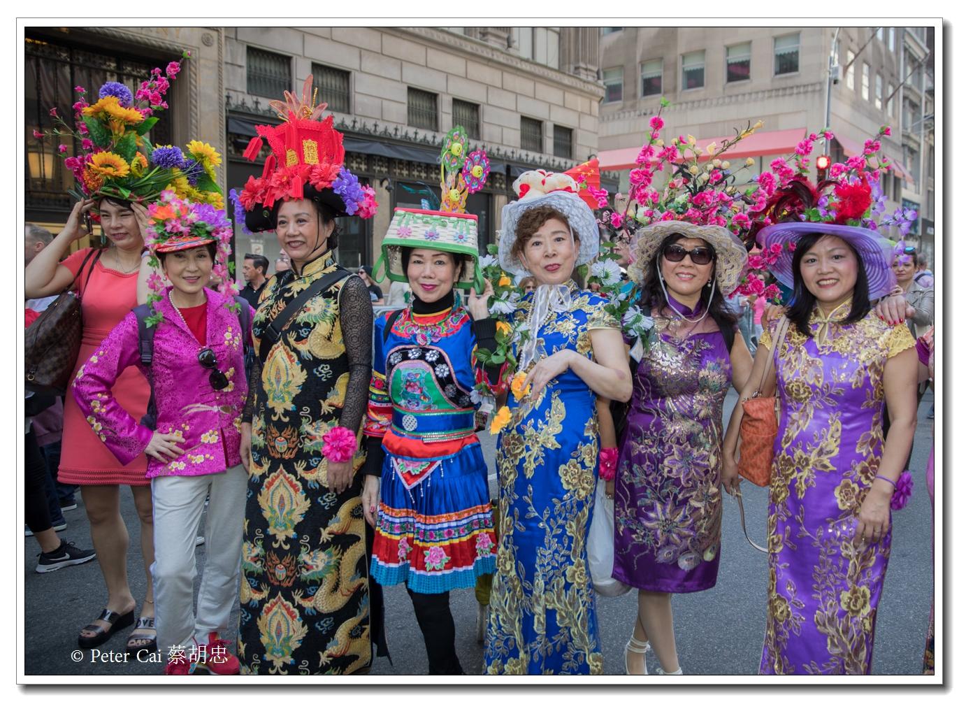 """纽约复活节游行,上演""""最新奇别致的帽子""""_图1-10"""