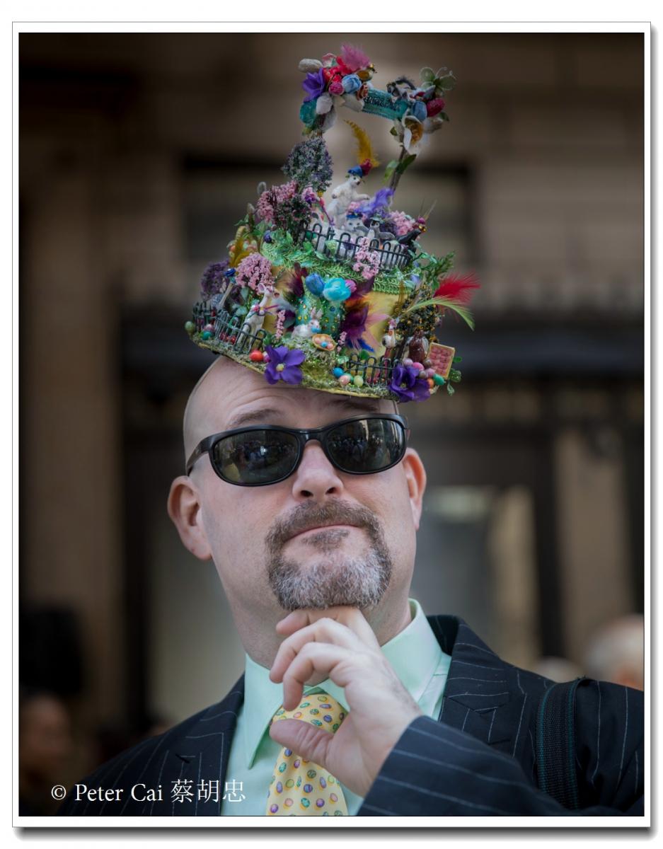 """纽约复活节游行,上演""""最新奇别致的帽子""""_图1-11"""