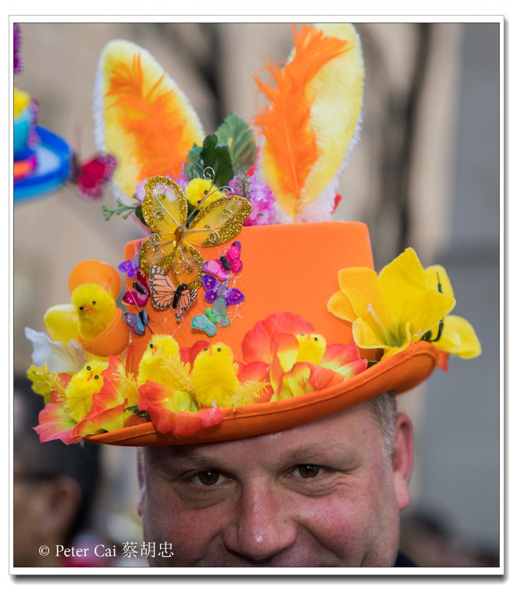 """纽约复活节游行,上演""""最新奇别致的帽子""""_图1-18"""