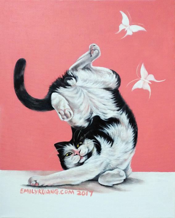 【邝幸画猫】蠢蠢欲动_图1-1