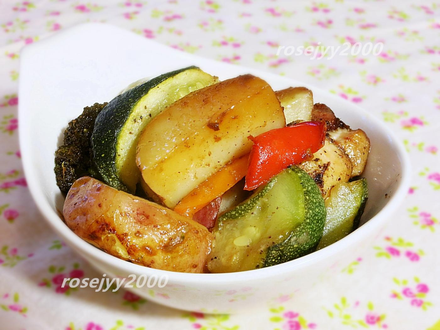 鸡肉时蔬烤箱菜_图1-1