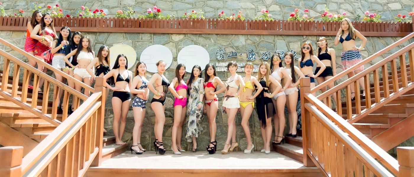 在临沂蒙山康谷温泉 与22位泳装女孩相遇在这里_图1-18