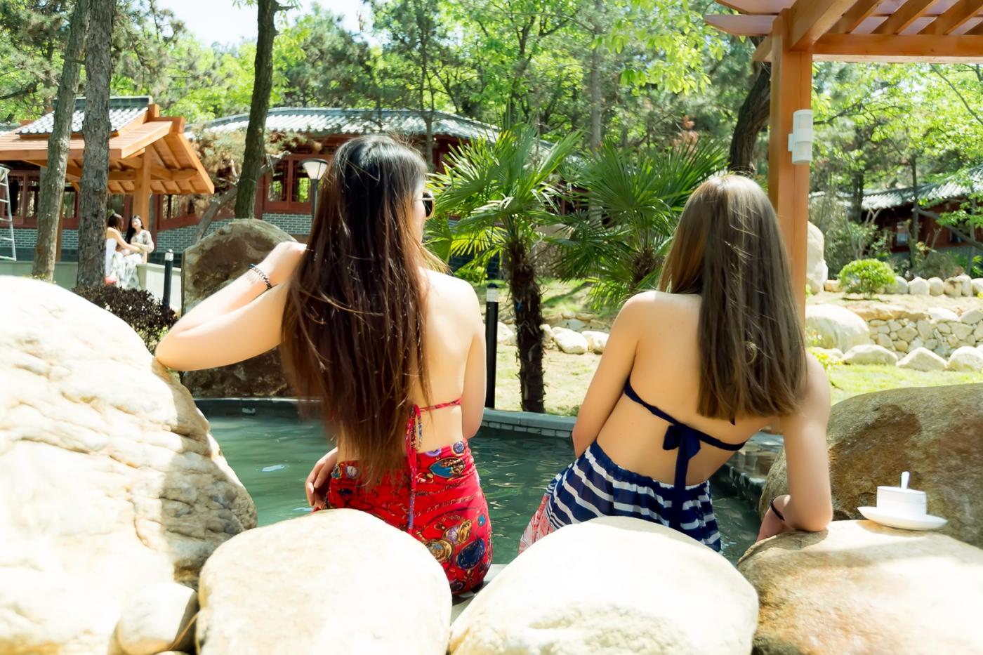 在临沂蒙山康谷温泉 与22位泳装女孩相遇在这里_图1-20