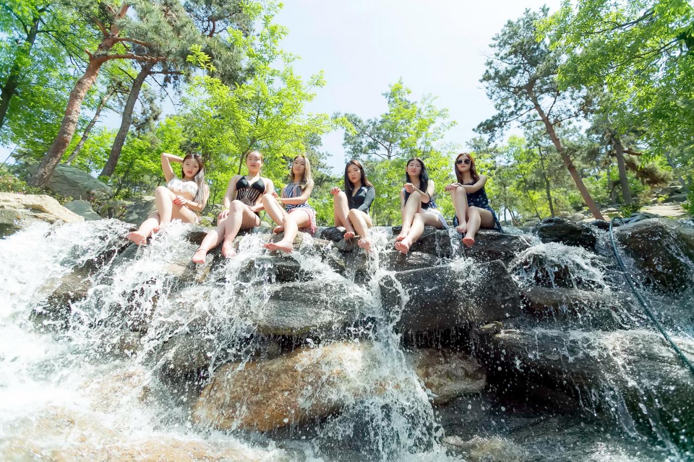 在临沂蒙山康谷温泉 与22位泳装女孩相遇在这里_图1-26