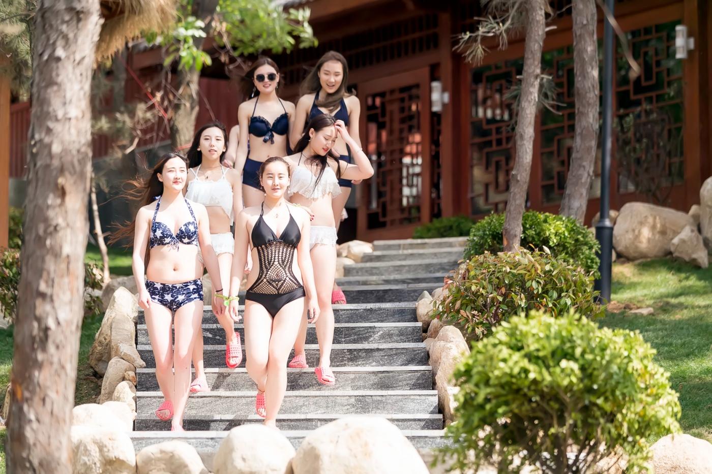 在临沂蒙山康谷温泉 与22位泳装女孩相遇在这里_图1-30
