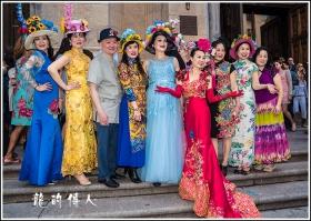 [龍的传人]2017复活節的彩帽游行拍攝