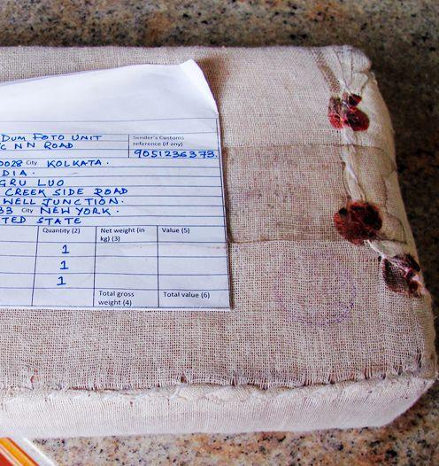 【小虫摄影】一个奇怪包裹--印度寄来的_图1-2