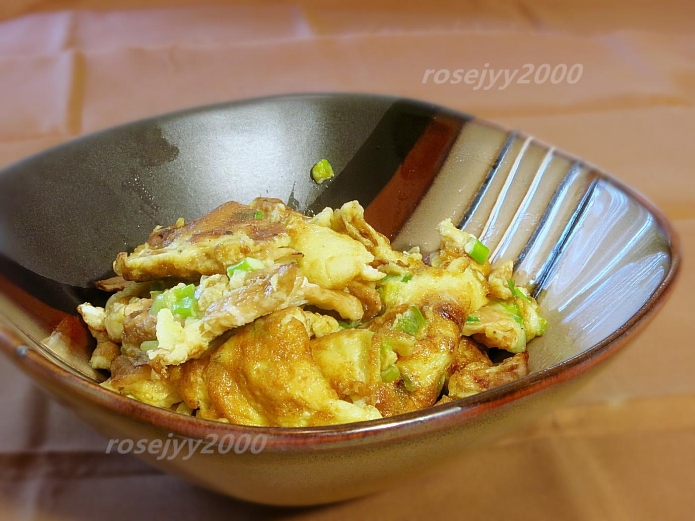 菜脯炒蛋_图1-1