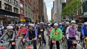 【田螺随拍】今天纽约单车马拉松