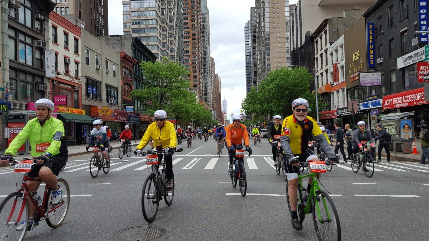 【田螺随拍】今天纽约单车马拉松_图1-8