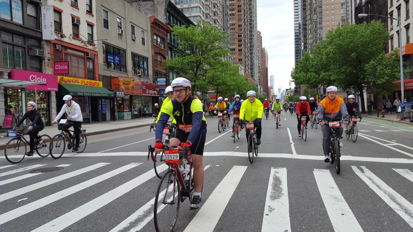 【田螺随拍】今天纽约单车马拉松_图1-9