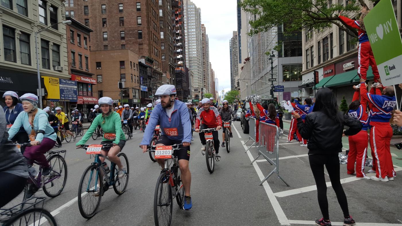 【田螺随拍】今天纽约单车马拉松_图1-11