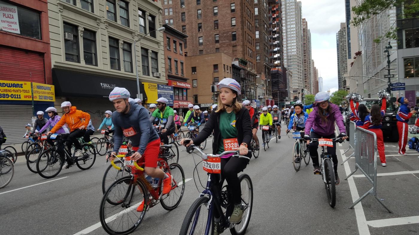 【田螺随拍】今天纽约单车马拉松_图1-12