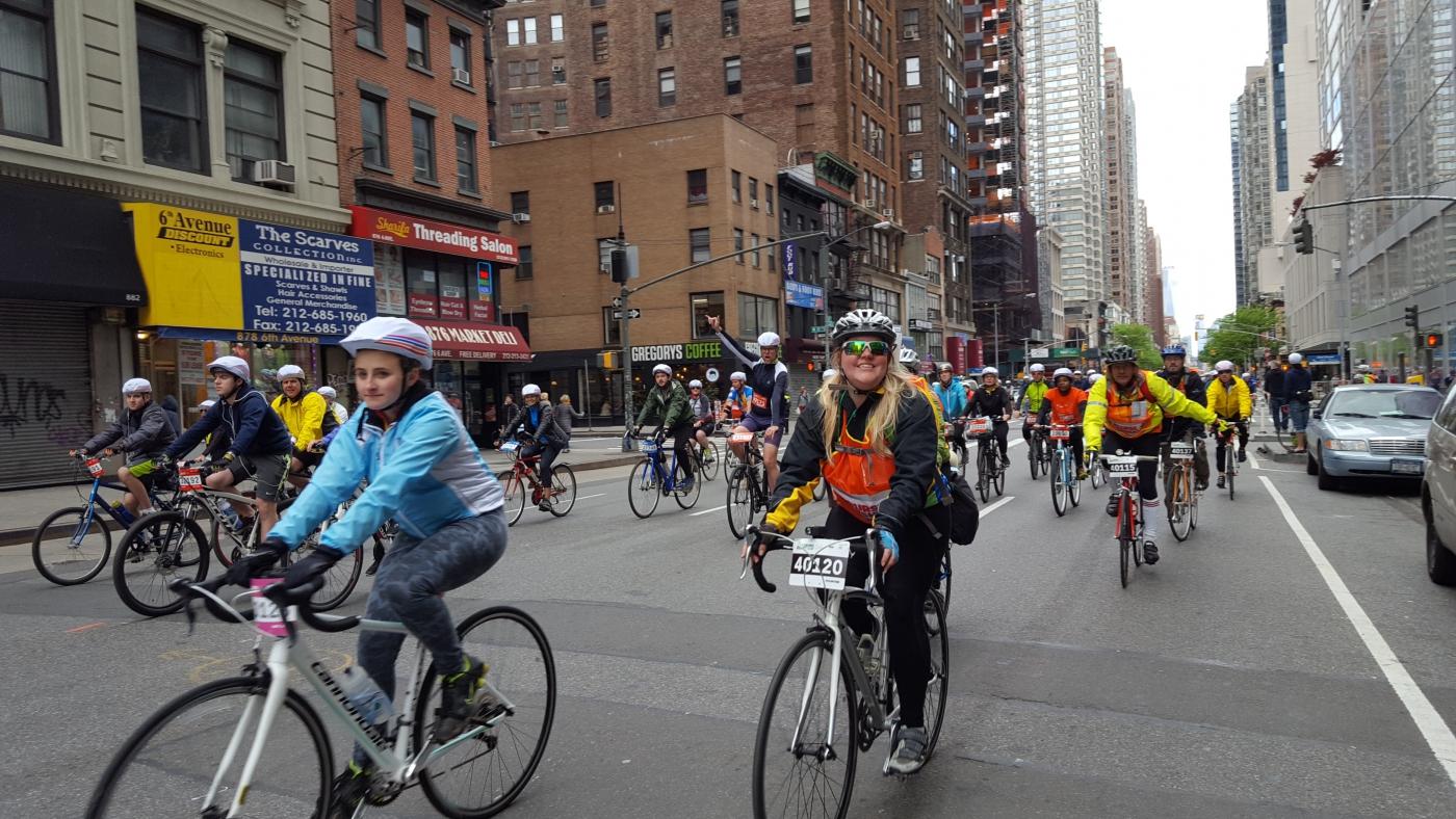 【田螺随拍】今天纽约单车马拉松_图1-13