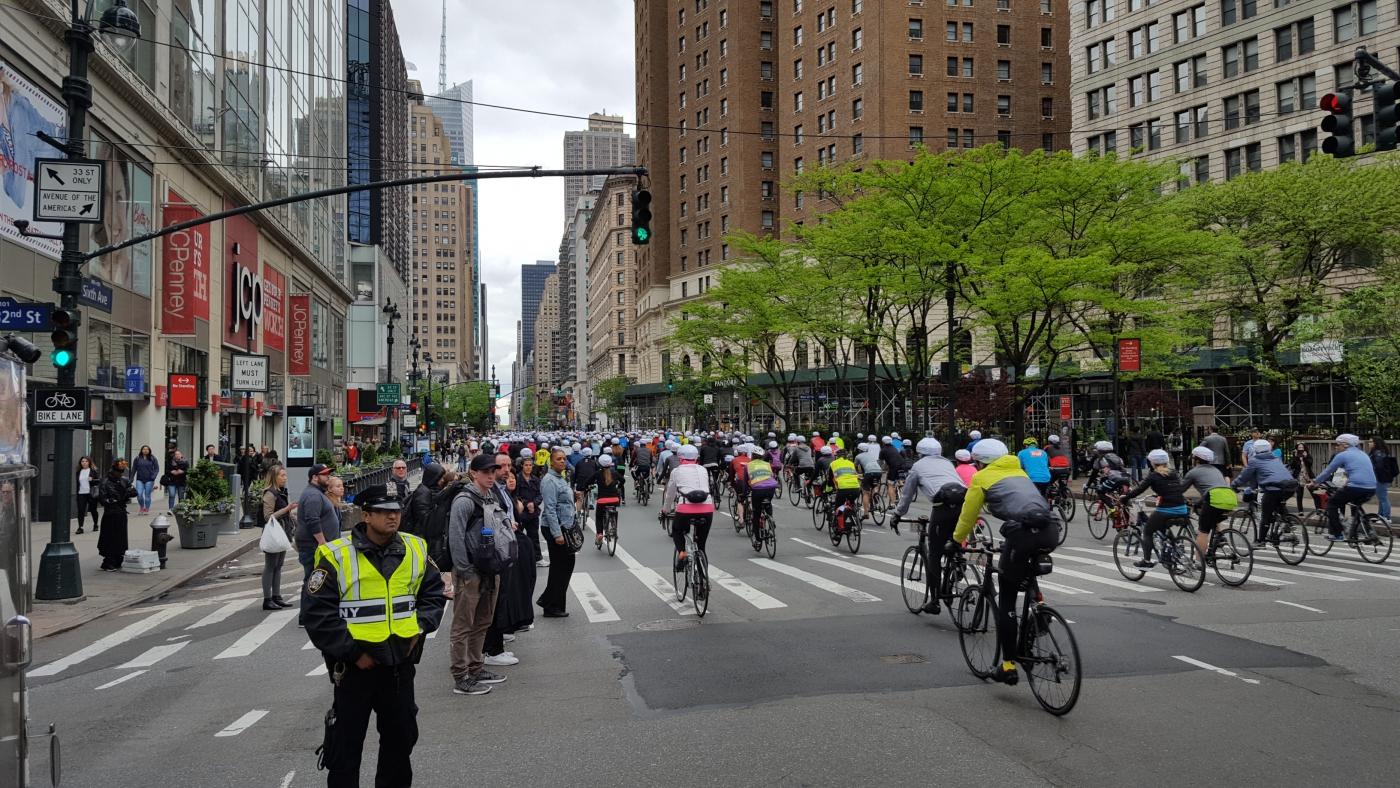 【田螺随拍】今天纽约单车马拉松_图1-15