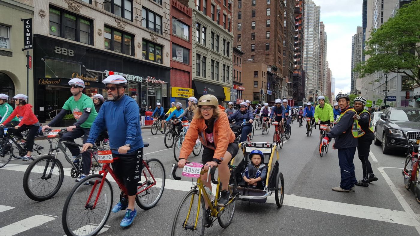 【田螺随拍】今天纽约单车马拉松_图1-16