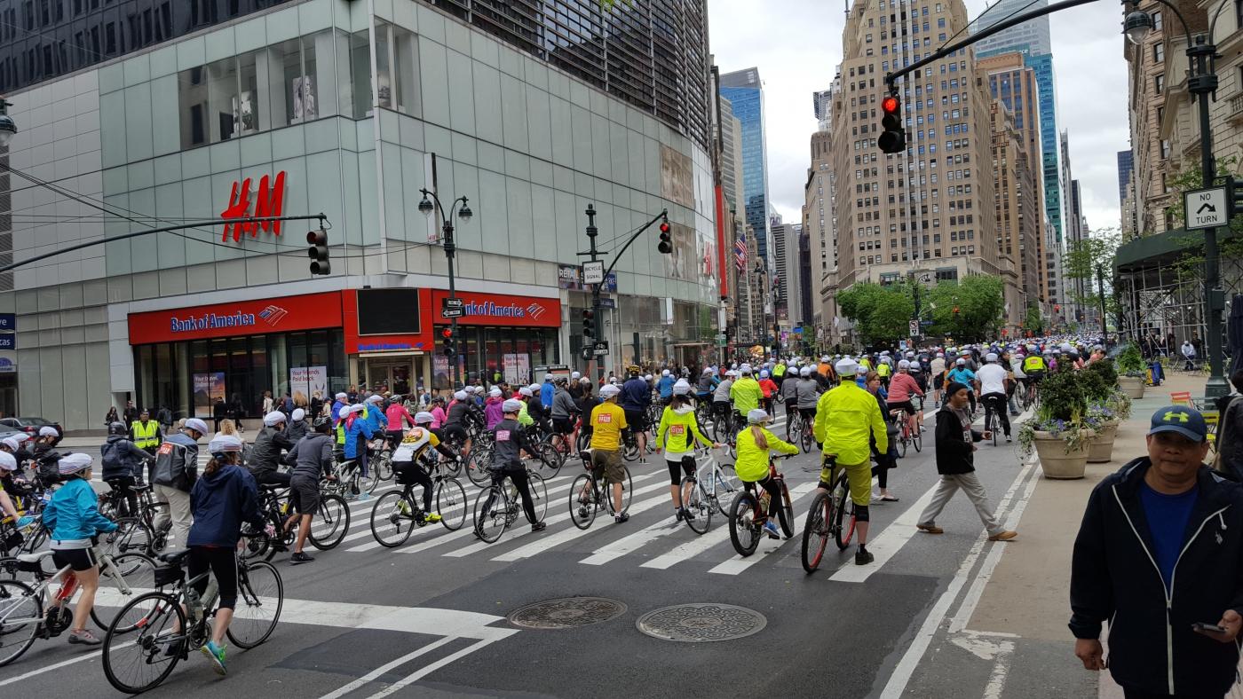 【田螺随拍】今天纽约单车马拉松_图1-18