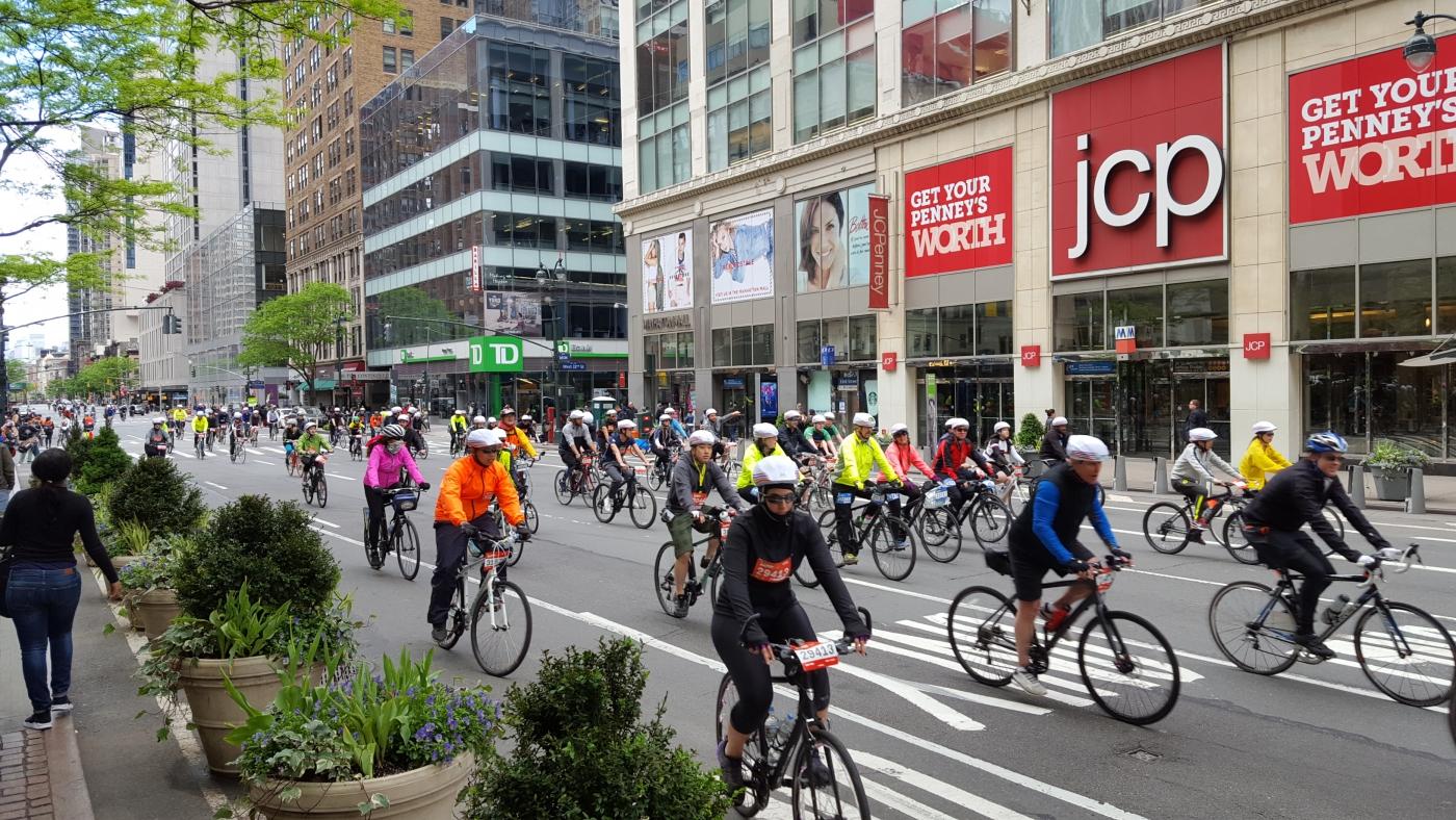 【田螺随拍】今天纽约单车马拉松_图1-19