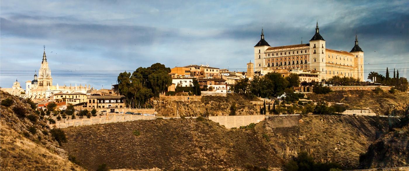 鸟瞰西班牙小市-托莱多(Toledo)_图1-10