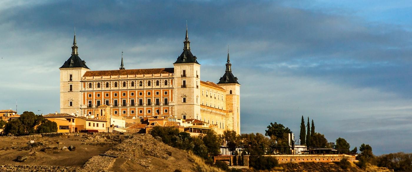 鸟瞰西班牙小市-托莱多(Toledo)_图1-9