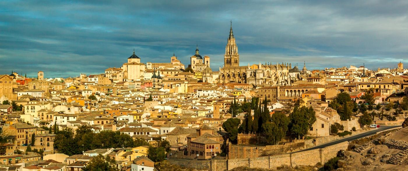 鸟瞰西班牙小市-托莱多(Toledo)_图1-8