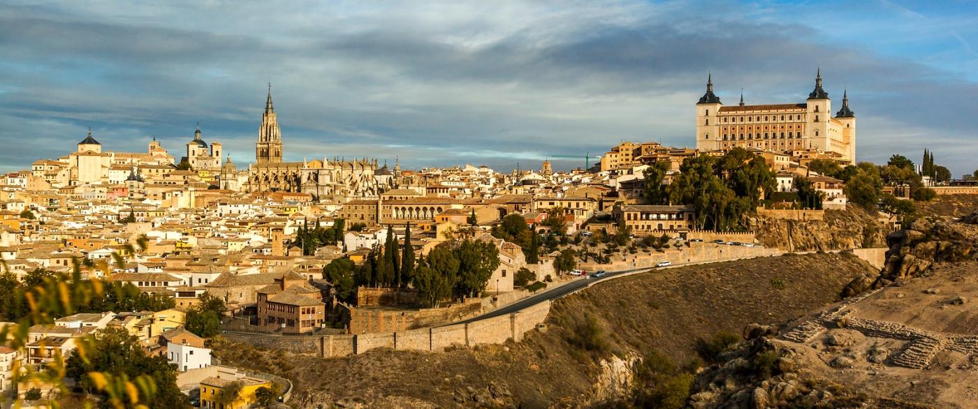 鸟瞰西班牙小市-托莱多(Toledo)_图1-7