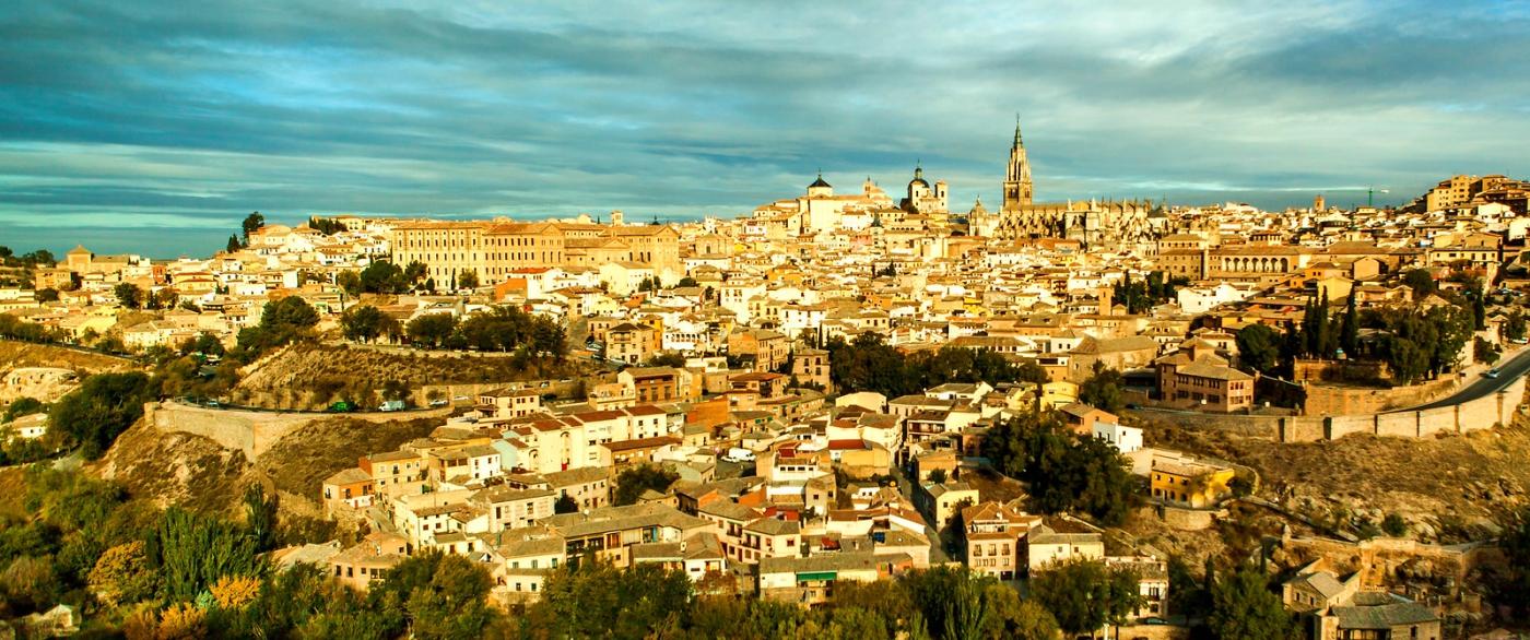 鸟瞰西班牙小市-托莱多(Toledo)_图1-6