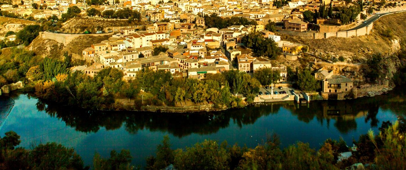鸟瞰西班牙小市-托莱多(Toledo)_图1-5