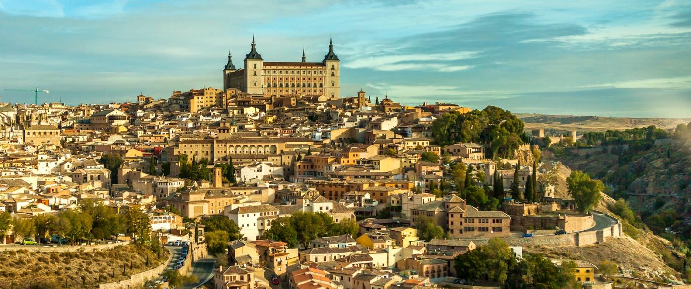 鸟瞰西班牙小市-托莱多(Toledo)_图1-4