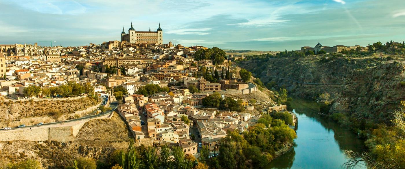 鸟瞰西班牙小市-托莱多(Toledo)_图1-3