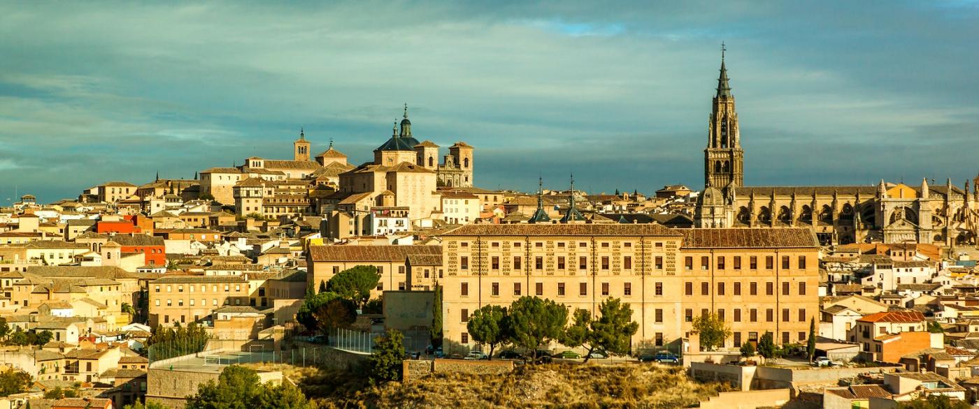 鸟瞰西班牙小市-托莱多(Toledo)_图1-1