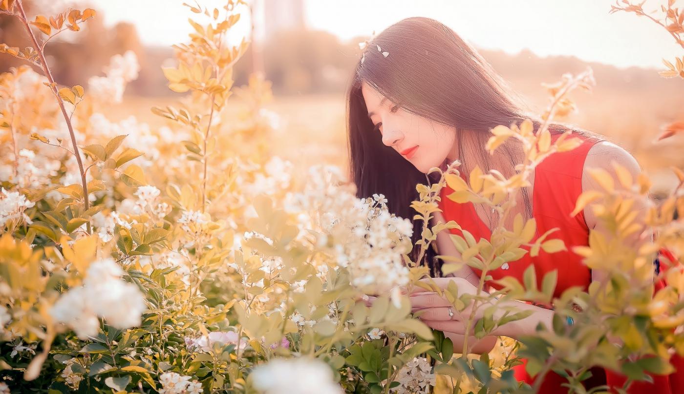临沂大学有这么一道美丽的蔷薇长廊 当蔷薇MM王璐在她面前走过 ..._图1-2