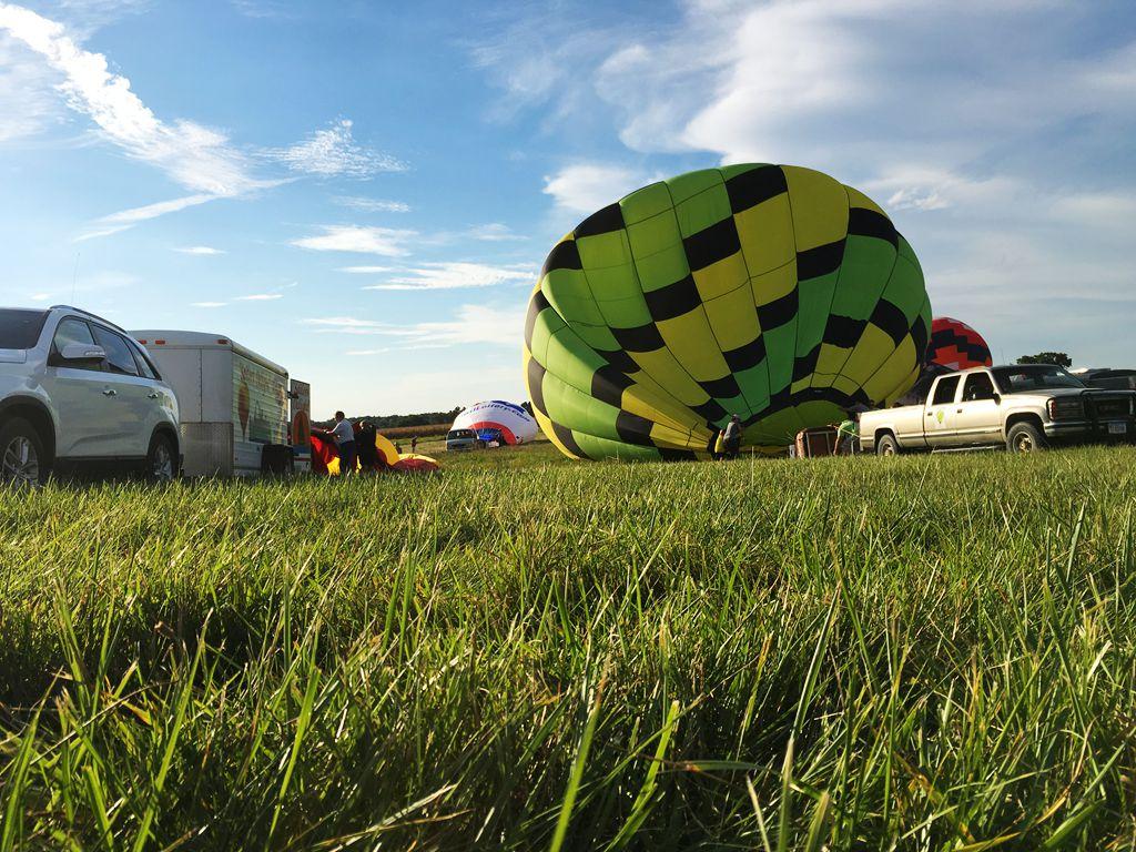 丰收后的放飞——莫斯比热气球节_图1-15