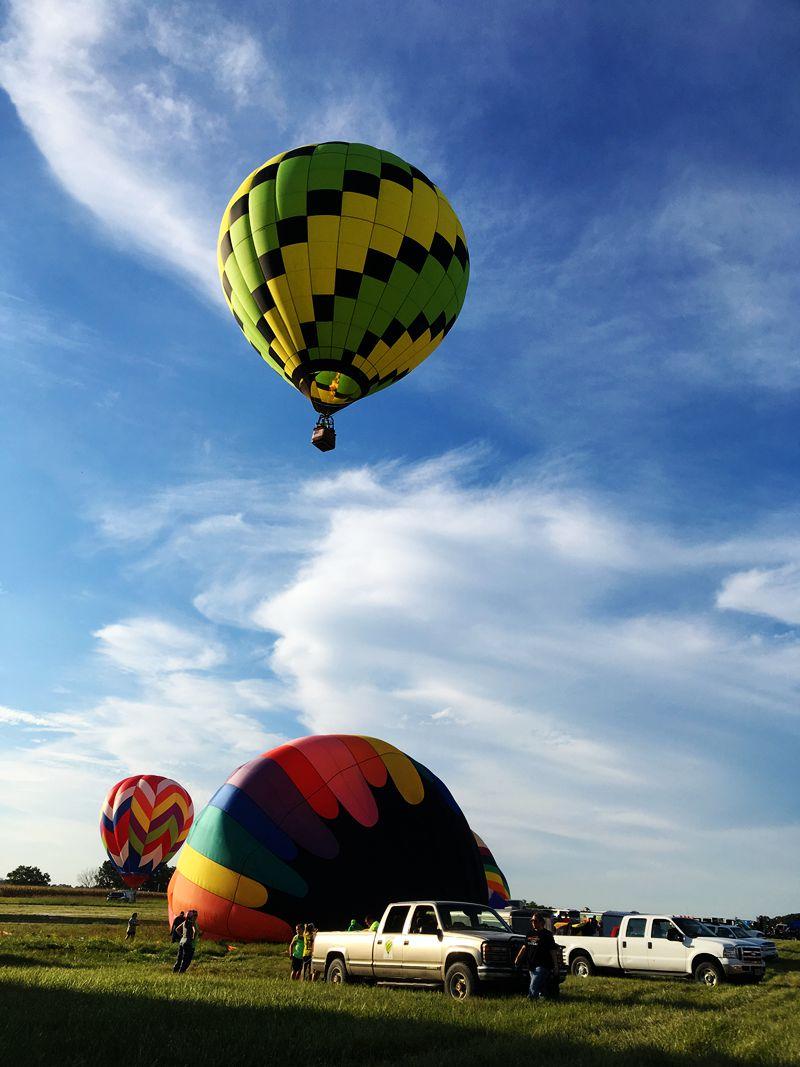 丰收后的放飞——莫斯比热气球节_图1-16