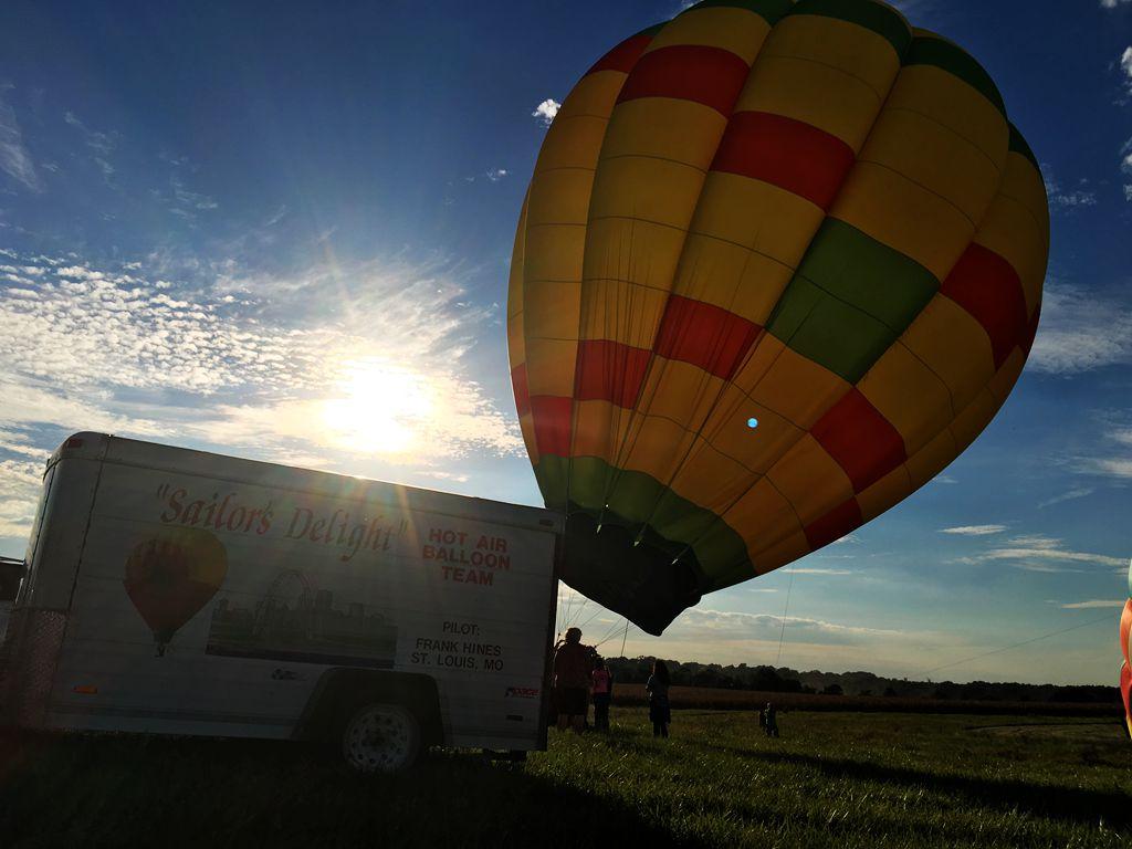 丰收后的放飞——莫斯比热气球节_图1-18