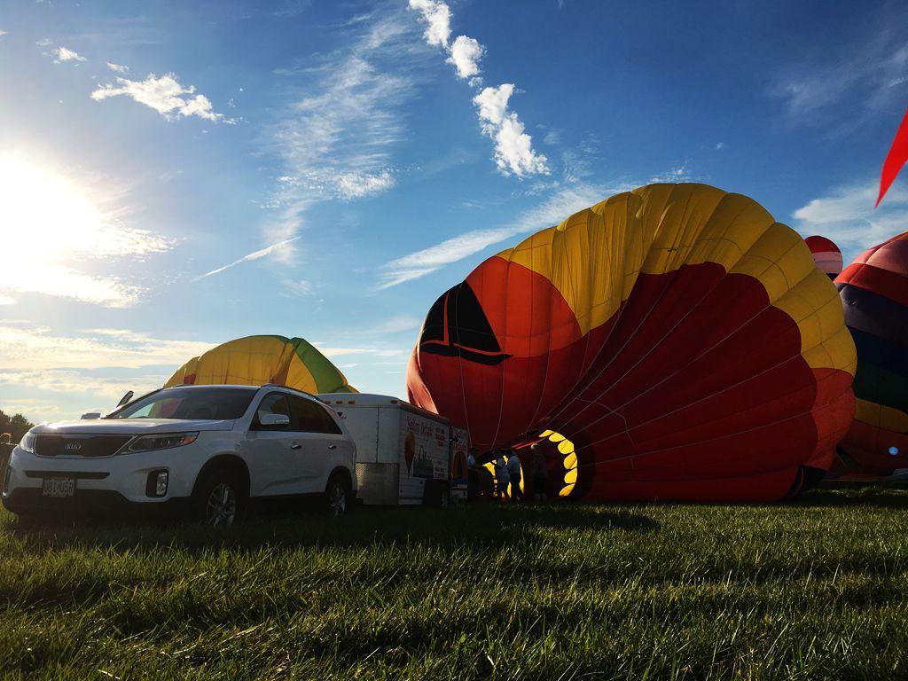 丰收后的放飞——莫斯比热气球节_图1-22