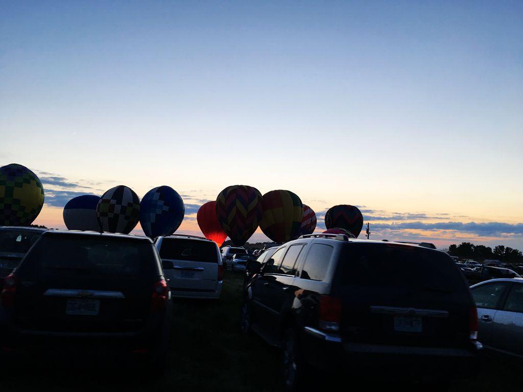 丰收后的放飞——莫斯比热气球节_图1-24