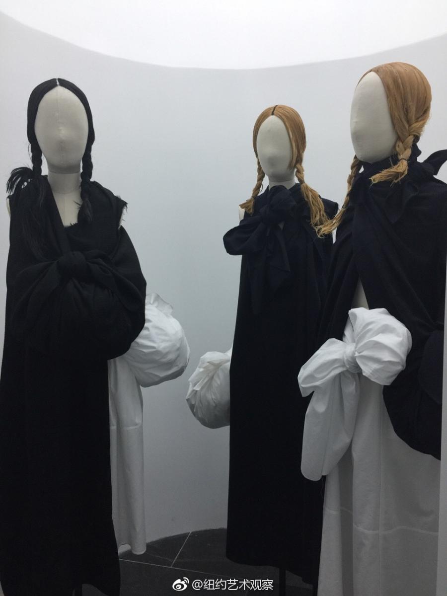 纽约大都会博物馆川久保玲服装大展_图1-5